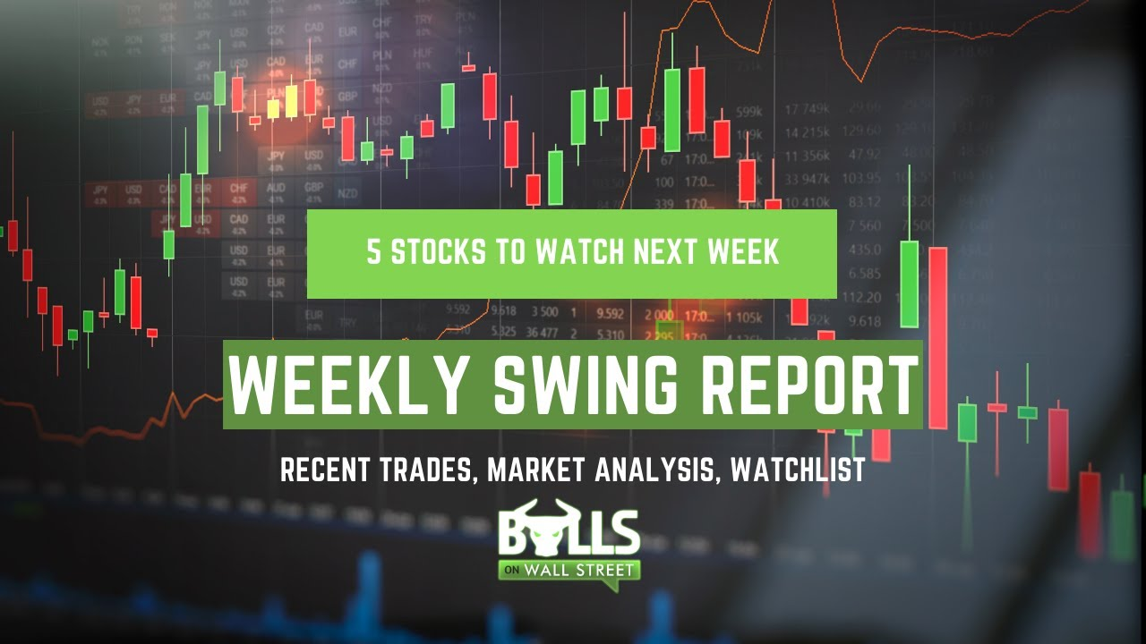 Free Swing Trading Report 8/1: Five Stocks to Watch Next Week