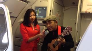 Video Air Asia - live on board music performance download MP3, 3GP, MP4, WEBM, AVI, FLV Juni 2018