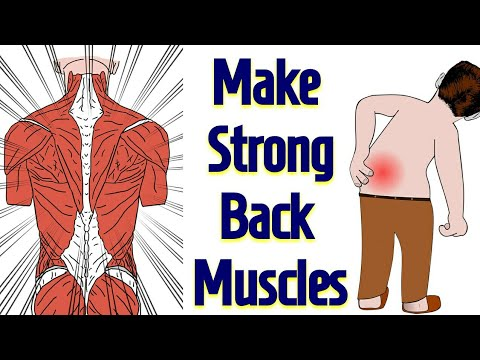 Strong Back Muscles By This Single Acupressure Point / BACK PAIN RELIEF / In Hindi