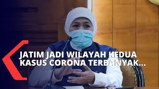 Lonjakan Kasus, Jawa Timur Menjadi Wilayah Terbanyak Positif Corona Kedua Setelah DKI Jakarta