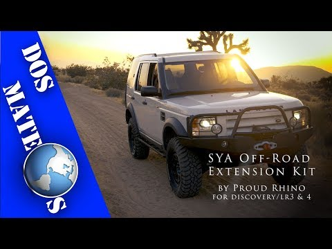 Land Rover Discovery/LR3 & LR4 – Proud Rhino SYA Off Road Extension Kit | INSTALL/How-To | [4K]