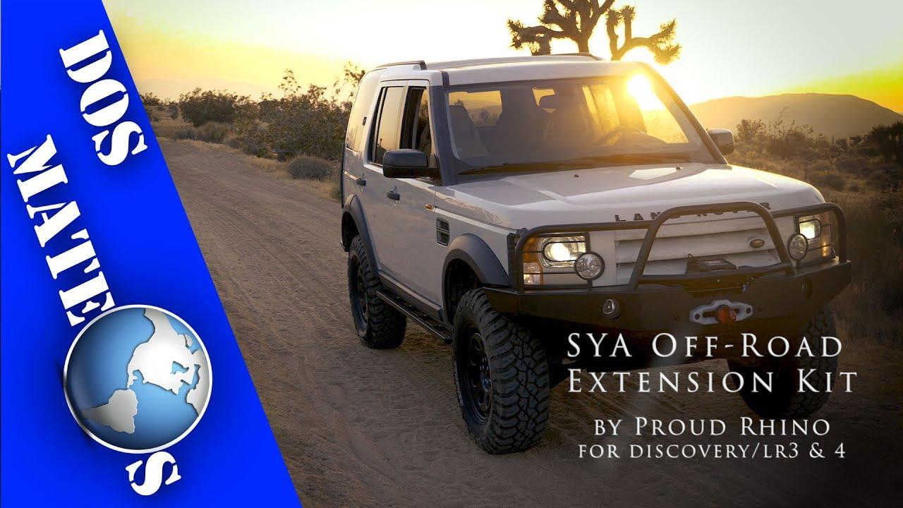 Land Rover Discovery >> Land Rover Discovery/LR3 & LR4 - Proud Rhino SYA Off Road ...