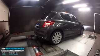 Reprogrammation Moteur Peugeot 207 1.6 HDI 90hp @ 126hp par BR-Performance