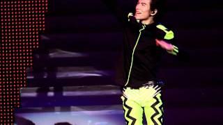 忘情森巴舞 + Baby + 一支獨秀 @ 2011蕭敬騰世界巡迴演唱會 - 香港站  2011/08/06