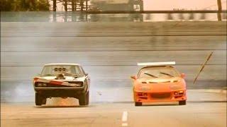 【追悼】ワイルドスピード - トヨタ・スープラ vs ダッジ・チャージャー