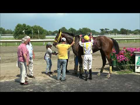 video thumbnail for MONMOUTH PARK 6-29-19 RACE 6