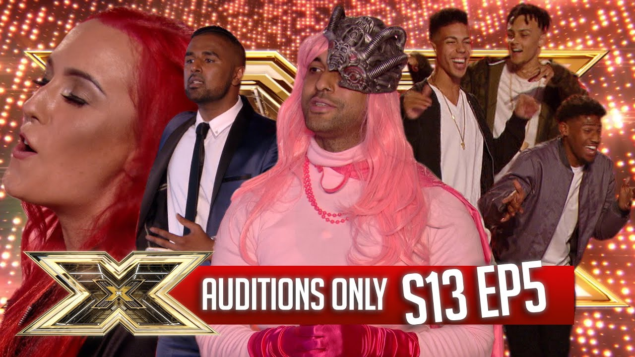 AUDITIONS ONLY!   EPISODE 5   SERIES 13   The X Factor UK