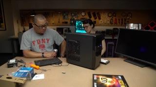 Budget Intel gaming PC live build!