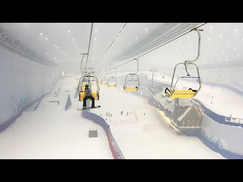 Inside the Largest Indoor Ski Resort In The World - The Banana Open in Harbin, China