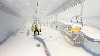 Inside the Largest Indoor Ski Resort In The World - The Banana Open in Harbin, China thumbnail