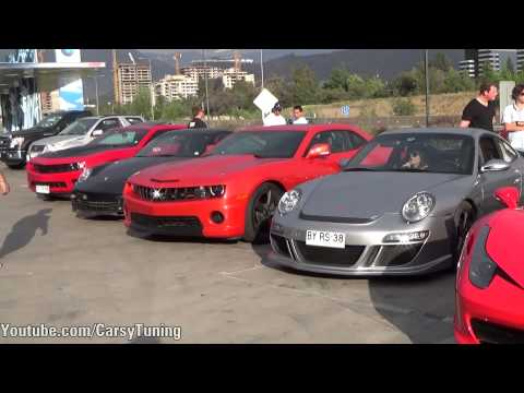 Supercars in Santiago Chile Vol 21 - F12 i8 RUF McLaren and more!