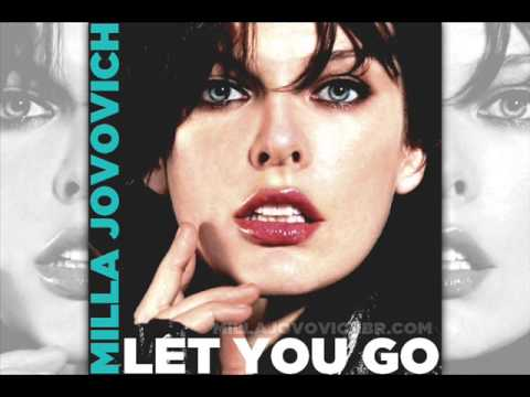 Milla Jovovich - Let You Go:歌詞+中文翻譯