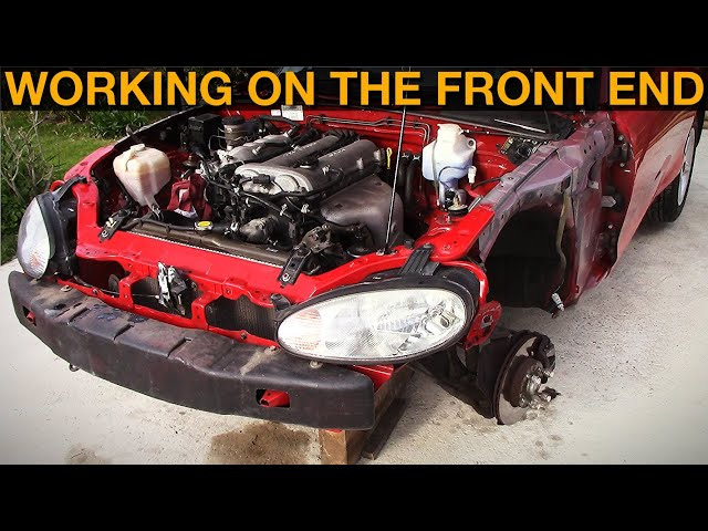 1998 Mazda Mx-5: Starting Work On Front End & Engine