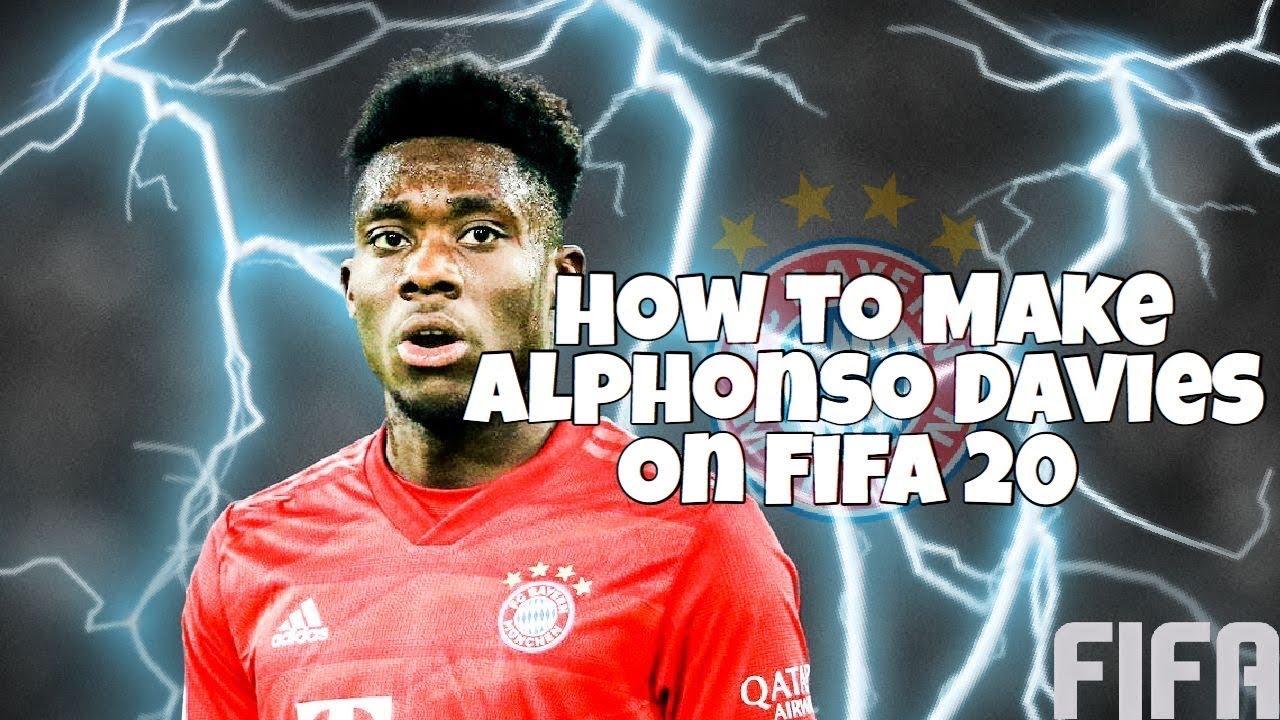 Alphonso Davies Fifa 18