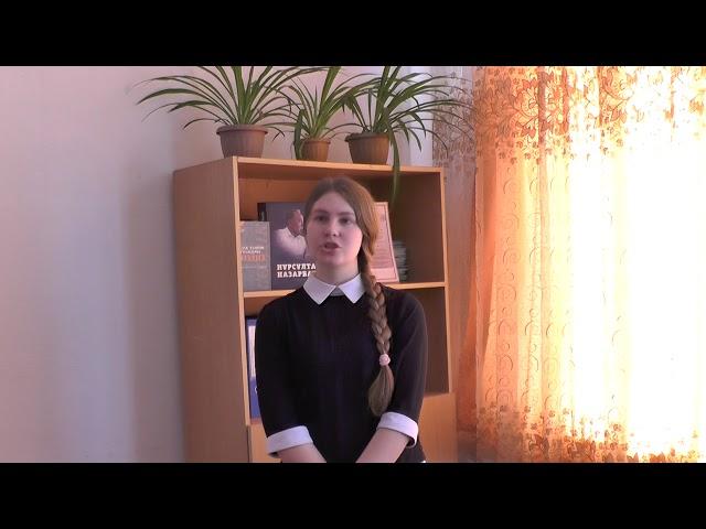 Изображение предпросмотра прочтения – АнгелинаМихайлова читает произведение «Все ли спокойно в народе?..» А.А.Блока