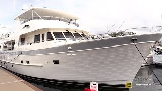 2015 Outer Reef 880 Classic Series Motor Yacht - Deck and Interior Walkaround - 2018 FLIBS
