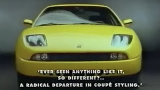 Fiat Coupe : 1993 Fiat Coupe 16V Promotional Video