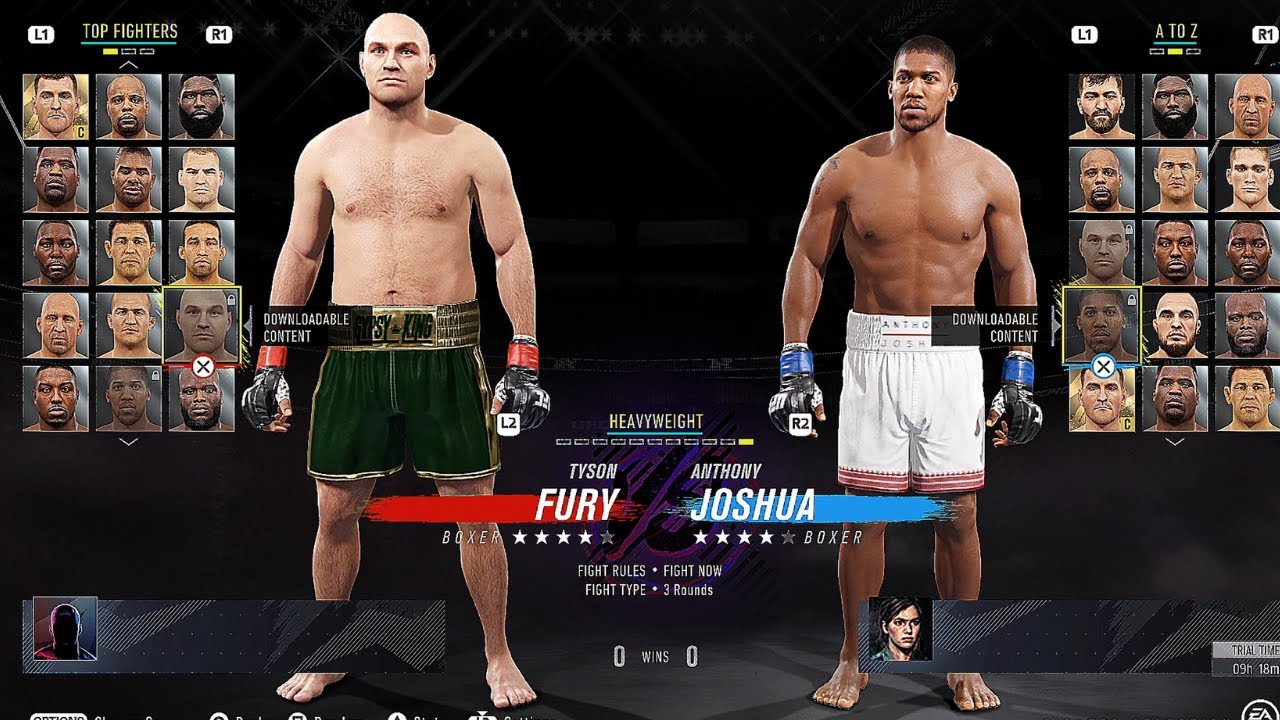 This Is The Ea Sports Ufc 4 Roster On The Ea Access 10 Hour Early Access Trial 08 07 2020 Ps4 Youtube