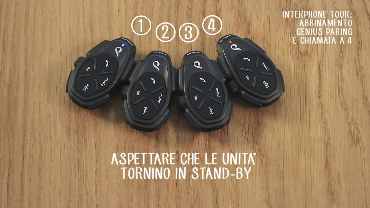 Abbinamento Automatico e Comunicazione a 4 dispositivi
