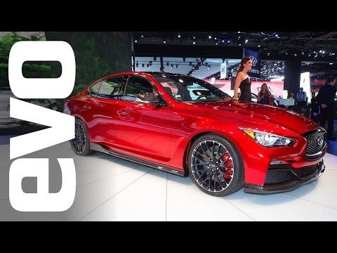 Infiniti Q50 Eau Rouge at Detroit 2014 | evo MOTOR SHOWS