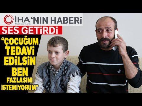 Böbrek Hastası Hasan'ın Yüzü Gelen Yardımlarla Güldü