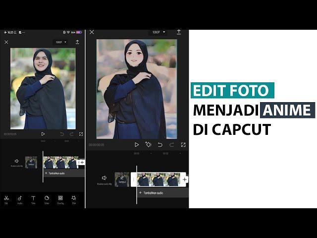 Cara Edit Foto Menjadi Anime di CapCut
