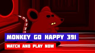 Monkey GO Happy: Stage 391 — Chinese New Year · Game · Walkthrough
