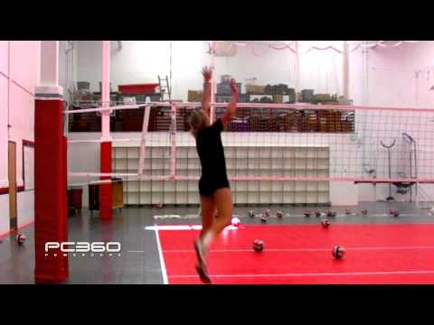 Volleyball Power Hitting, Arm Swing & Spike - PC360