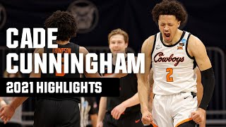 Cade Cunningham 2021 NCAA tournament highlights