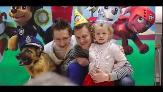 """Немецкая Овчарка Вита празднует свой день рождения в стиле """" щенячий патруль """" в Уфе"""