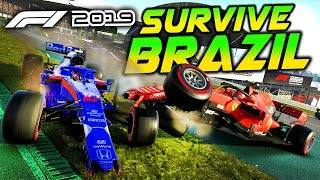 SURVIVE BRAZIL - F1 2019 Extreme Damage Game Mod