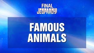 Final Jeopardy! January 12, 2021 | JEOPARDY!
