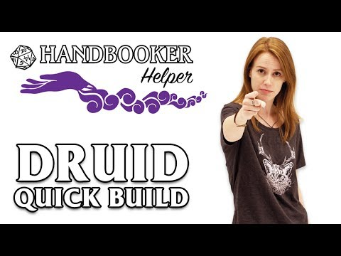 Handbooker Helper: Druid (Quick Build)