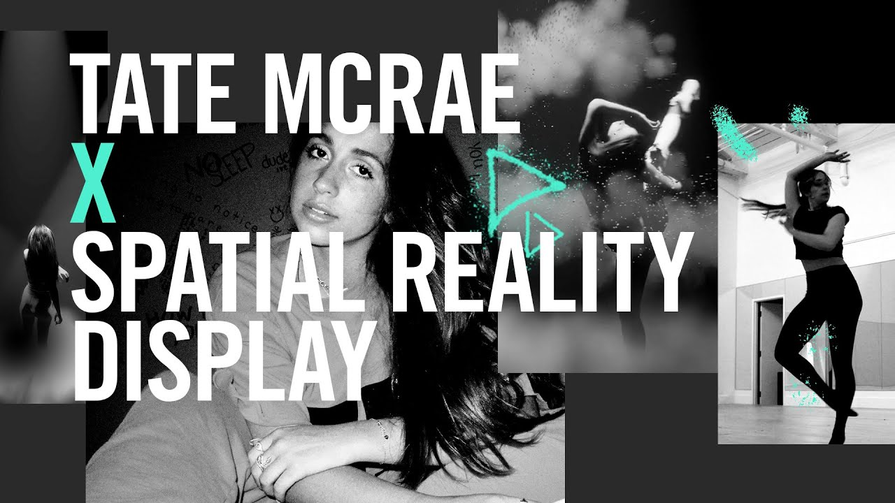 Tate McRae - you broke me first (An Immersive 3D Version Made For Spatial Reality Display)