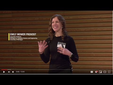 Human-Centered Computing: Using Speech to  Understand Behavior | Prof. Emily Mower Provost