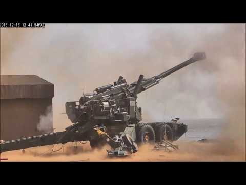 India's DRDO ATAGS and OFB Dhanush Artillery In Action