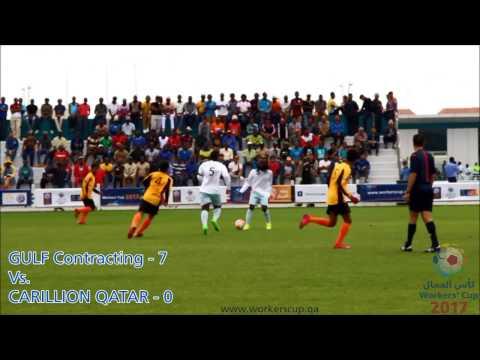 Match 24: GULF Contracting  Vs. CARILLION Qatar - Score 7-0