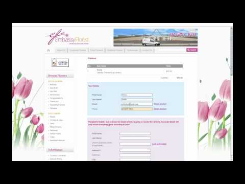 Embassy Florist Canberra -  How To Order Flowers Online