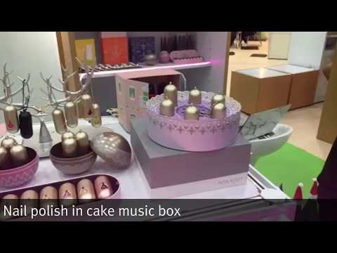 Global Sources Analyst's Choice: Nail polish in cake music box