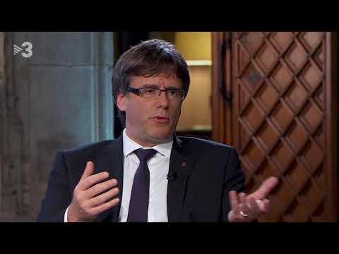 Entrevista al President de la Generalitat