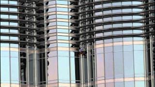 Spiderman Burj Khalifa