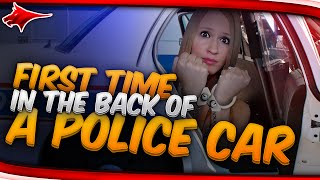 MY FIRST TIME BEING IN THE BACK OF A POLICE CAR!? - FANGS