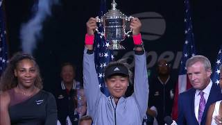 US Open Extended Highlight: Naomi Osaka vs. Serena Williams