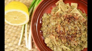 Erişteli Yeşil Mercimek Yemeği - Semen Öner - Yemek Tarifleri