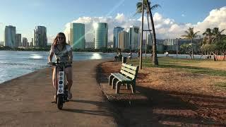URB-E Hawaii Magic Island Ride