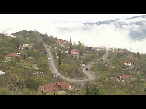 Войска Азербайджана вошли в Лачинский район.