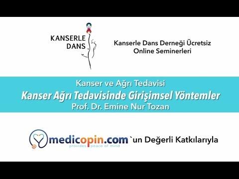 Kanser Ağrı Tedavisinde Girişimsel Yöntemler - Prof. Dr. Emine Nur Tozan