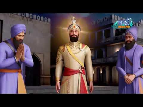 Guru-Gobind-Singhji-And-Bhai-Dya-Singhji-Sawal-Jawab-By-Bibi-Harleen-Kaur-Ji-Delhi-Wale