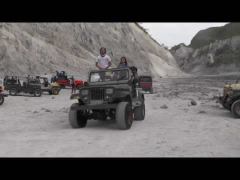 Philippines must see places - Mt. Pinatubo