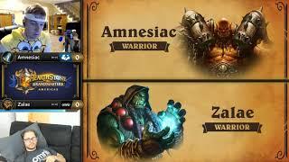 Match of the Day: Amnesiac vs Zalae - Hearthstone Grandmasters Americas S2 2019 - Week 1